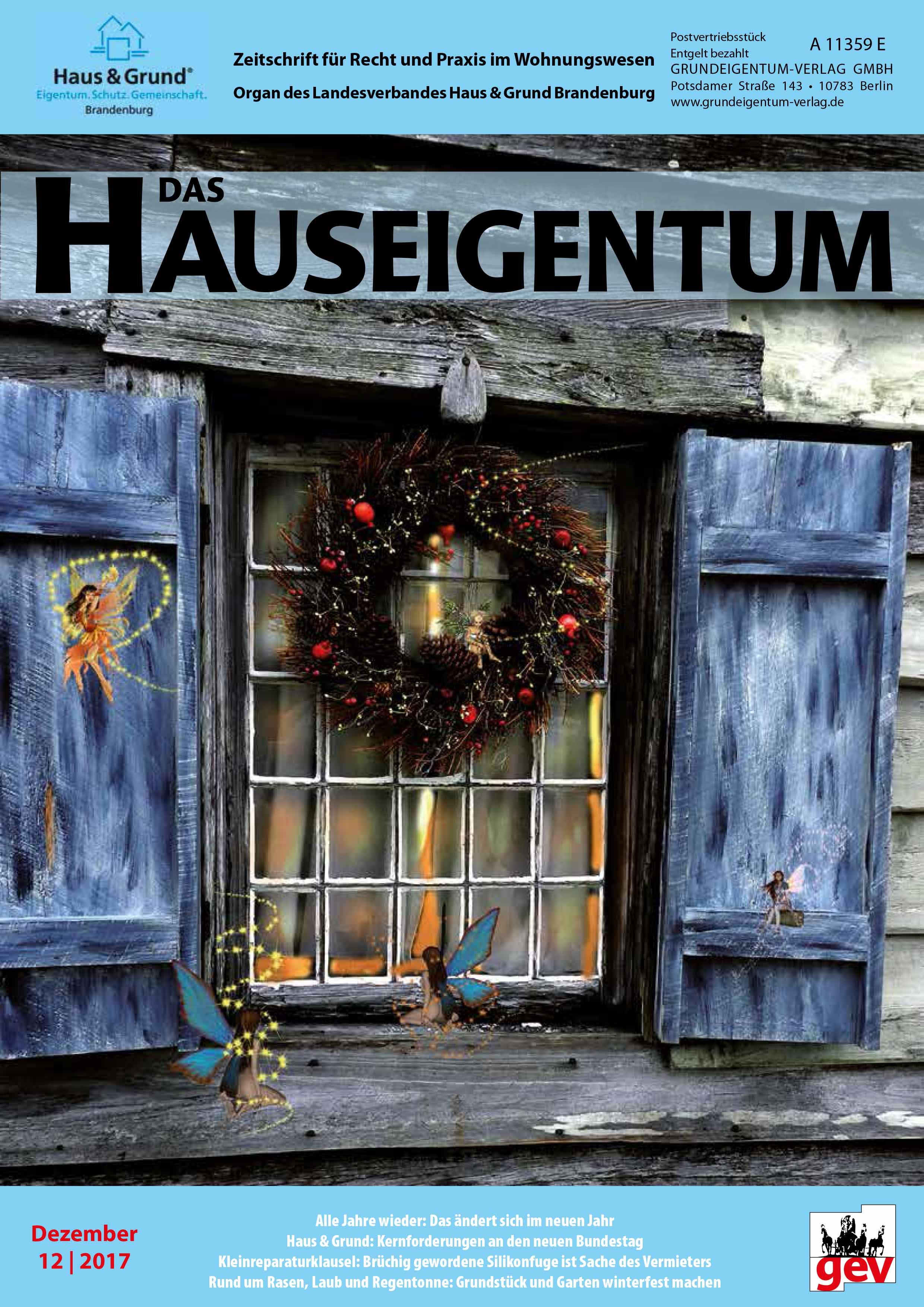 Zeitschriften (Abonnements)   Grundeigentum-Verlag GmbH
